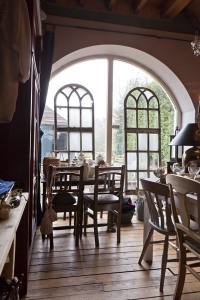 Koffie -en Theeschenkerij binnenkant